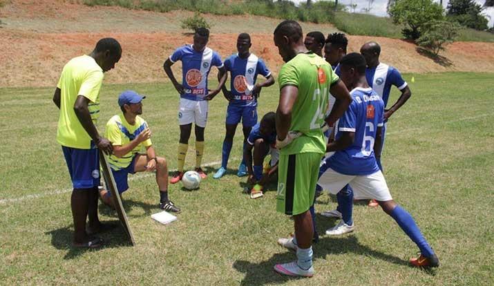 Costa do Sol aplica goleada em jogo treino