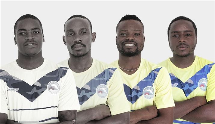 Quatro canários nos Mambas