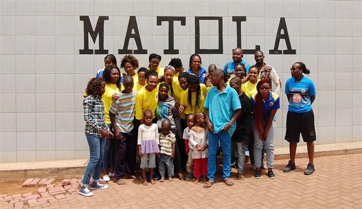 Visita ao Infantário da Matola